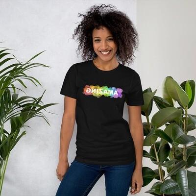 Short-Sleeve Unisex T-Shirt (AMAZING Rainbow)