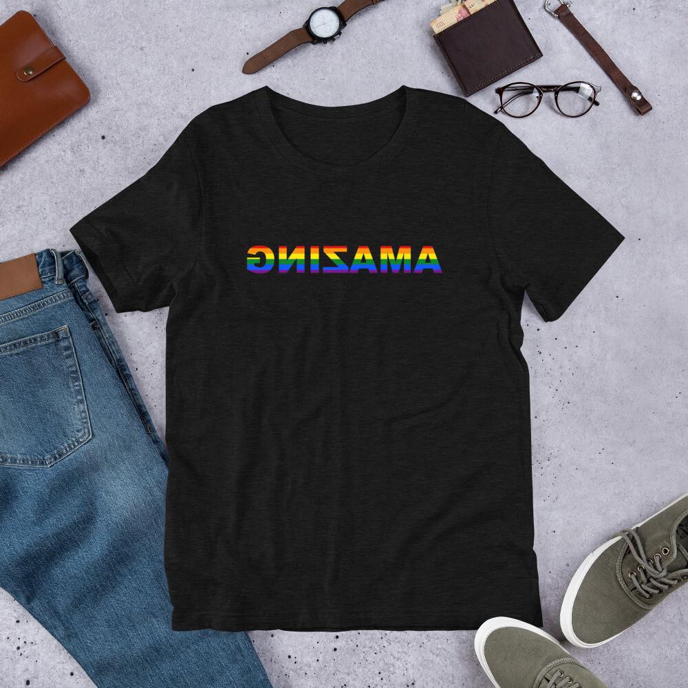 Short-Sleeve Unisex T-Shirt (AMAZING PRIDE)