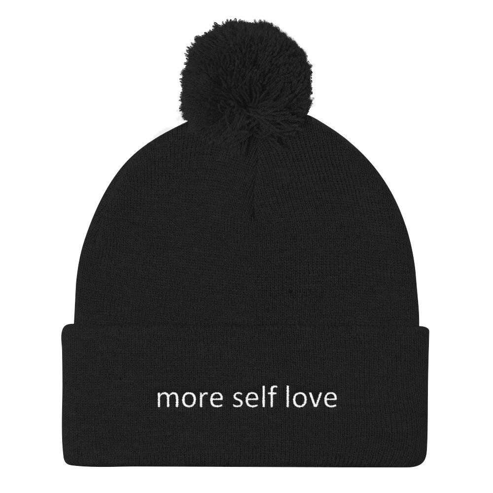 Pom Pom Knit Cap (more self love)