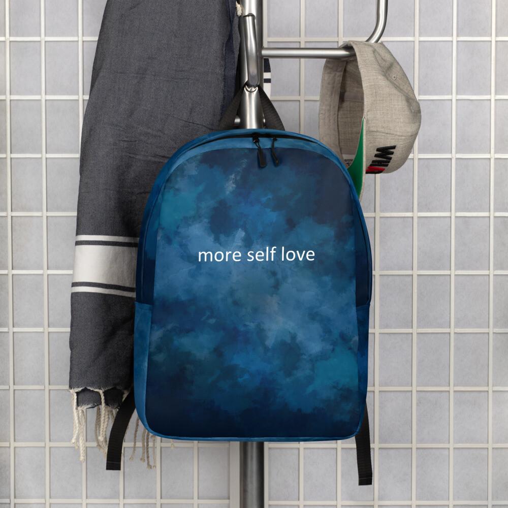 Minimalist Backpack (more self love)