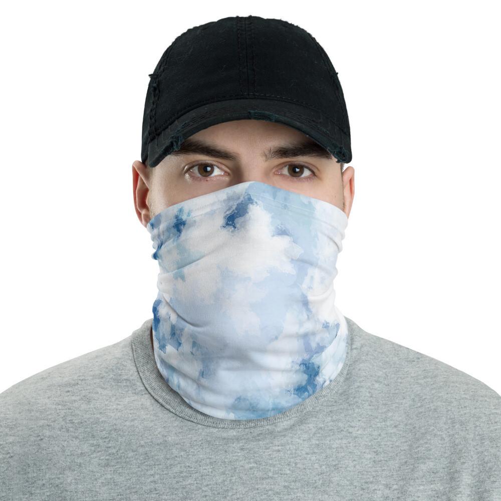 Neck Gaiter (Blue Tie Dye)