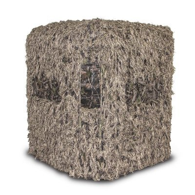 Soft Side 6X6 Ghillie Deluxe Blind sold with  5 Foot Stand