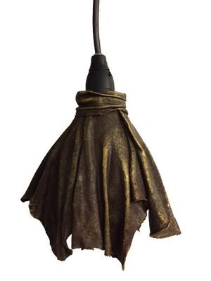 Brun lampskärm (t-shirt tyg)