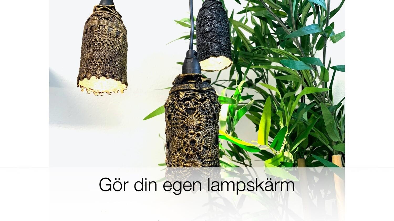 """Online kurs """"Gör din egen lampskärm"""""""
