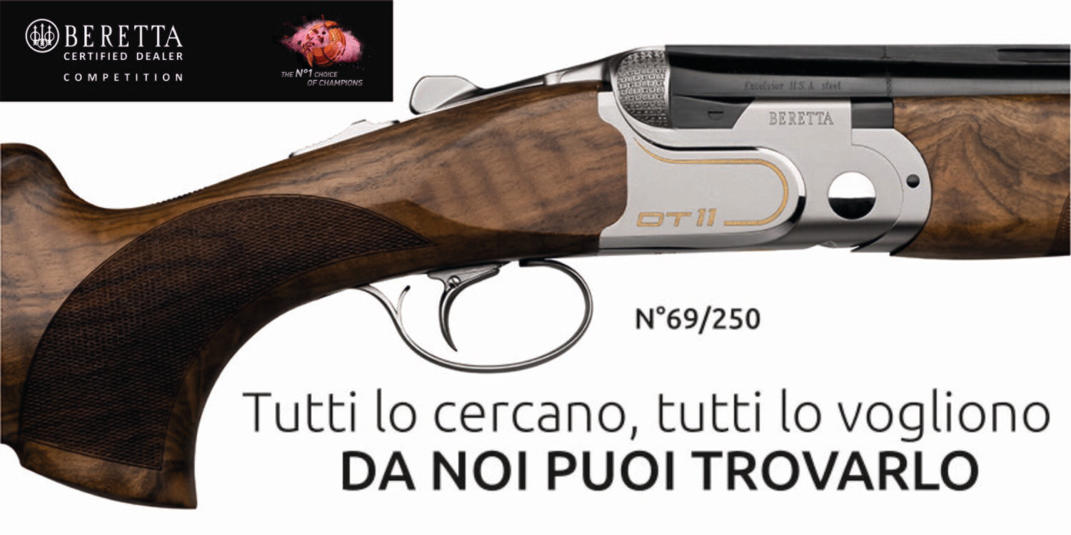 Fucile DT11 Gold Limited Edition - BERETTA