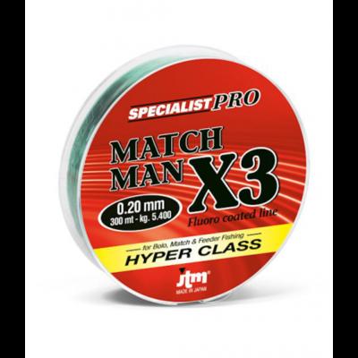 Filo Match Man X3 300 Mt -  JTM