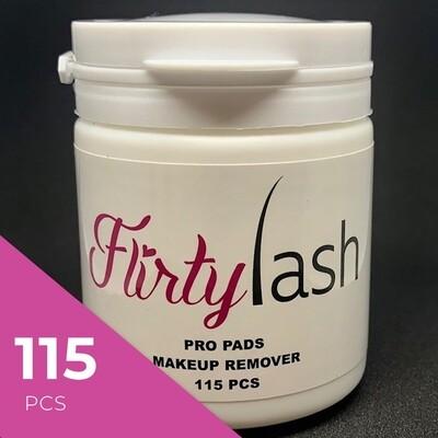 Flirtylash Pro Pads Makeup Remover pads