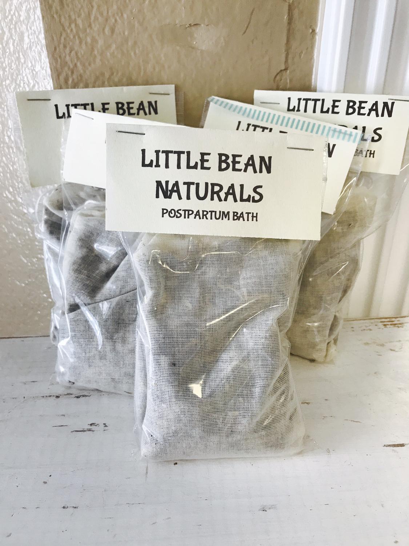Little Bean Naturals Postpartum Bath