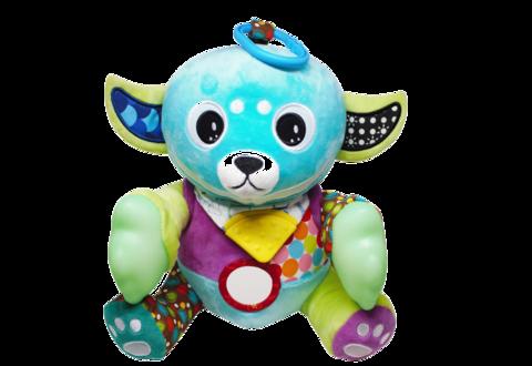 Yummy Buddy Teether Plush Toy