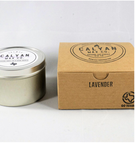 Calyan Wax Co. White Birch Soy Candle