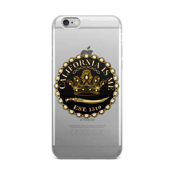 CALIFORNIA IS ME EST. 1510 SUPER iPhone Case