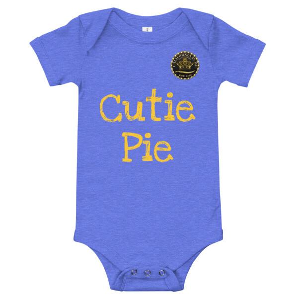 CALIFORNIA IS ME EST. 1510 Cutie Pie  SuperBaby Onesie