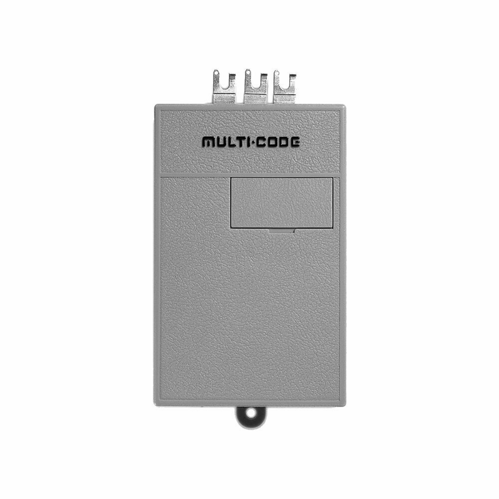 Multi-Code 109020 Three Tab Screw Connection Receiver 300MHz