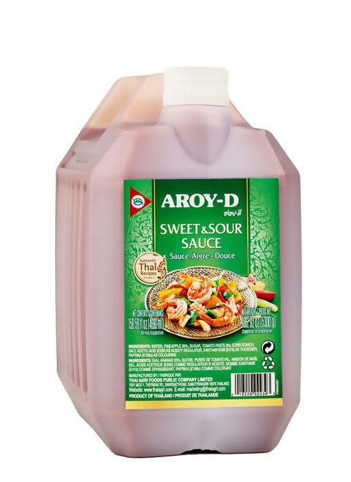 Соус кисло-сладкий, АРОЙ Д, канистра 5,3кг