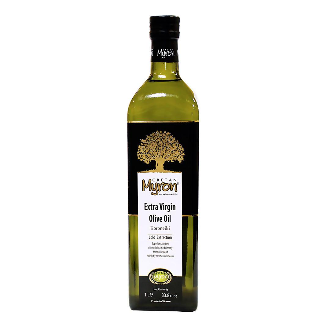 Масло оливковое экстра верджин, МИРОН КРИТАН, стекло 1л