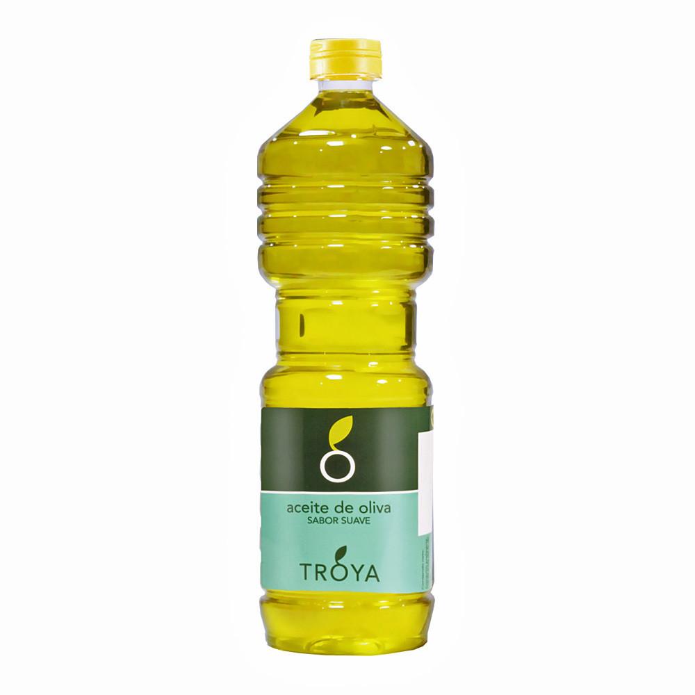 Масло оливковое рафинированное (100% Pure) мягкий вкус, ТРОЯ, 1л