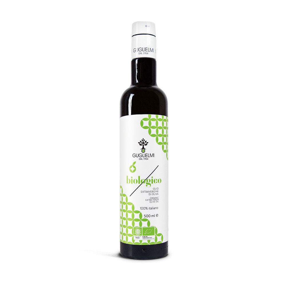 Масло оливковое э/в органик, ГУГЛИЕЛМИ, 500мл
