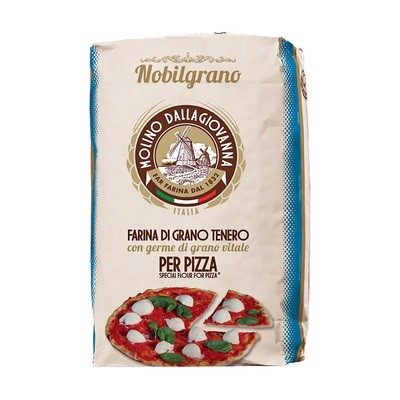 Мука для пиццы, Нобильграно 0-Н Блю, MOLINO DALLAGIOVANNA, мешок 25кг