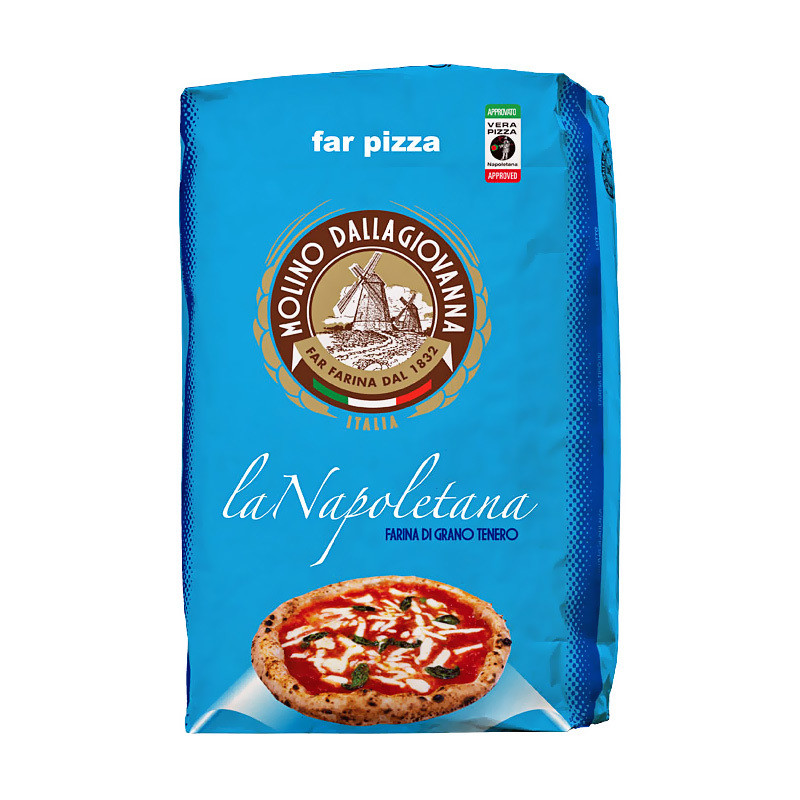 Мука для пиццы, Ла Наполитано-00, MOLINO DALLAGIOVANNA, мешок 25кг