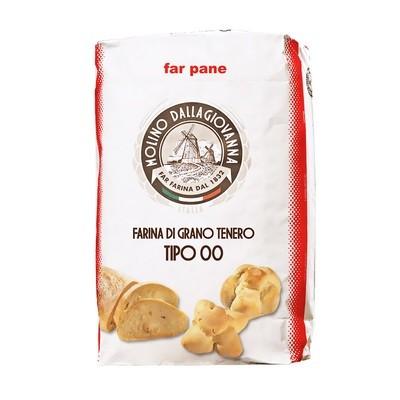 Мука для хлеба, Пане-00-РП (W-350), MOLINO DALLAGIOVANNA, мешок 25кг