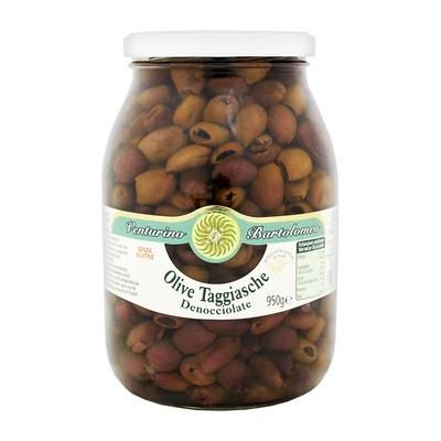 Оливки таджиаска б/к в олив.масле, ВЕНТУРИНО, стекло 950г