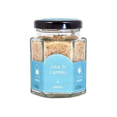 Приправа каперсная (caper salt), ЛА НИКЬЯ, стекло 100г