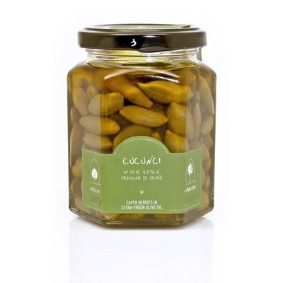 Каперсы, плоды в оливковом масле, ЛА НИКЬЯ, стекло 240г