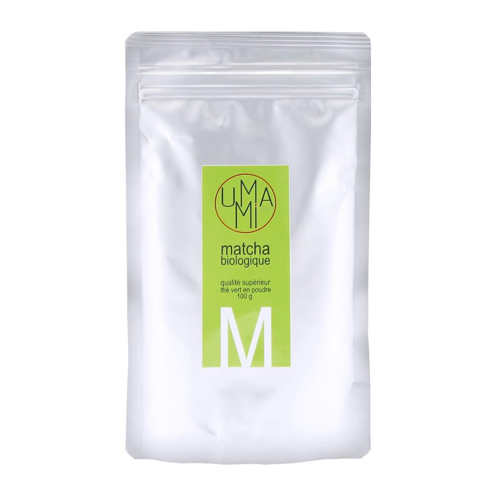Чай Маття зеленый органик (organic superior matcha), УМАМИ, сашет 100г
