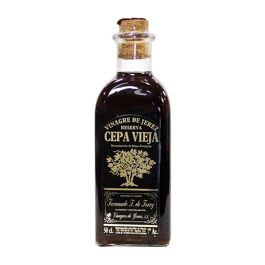 Уксус из хереса (DOP Reserva Extra Viejo), СЕПА ВЬЕХА, стекло (штоф) 500мл