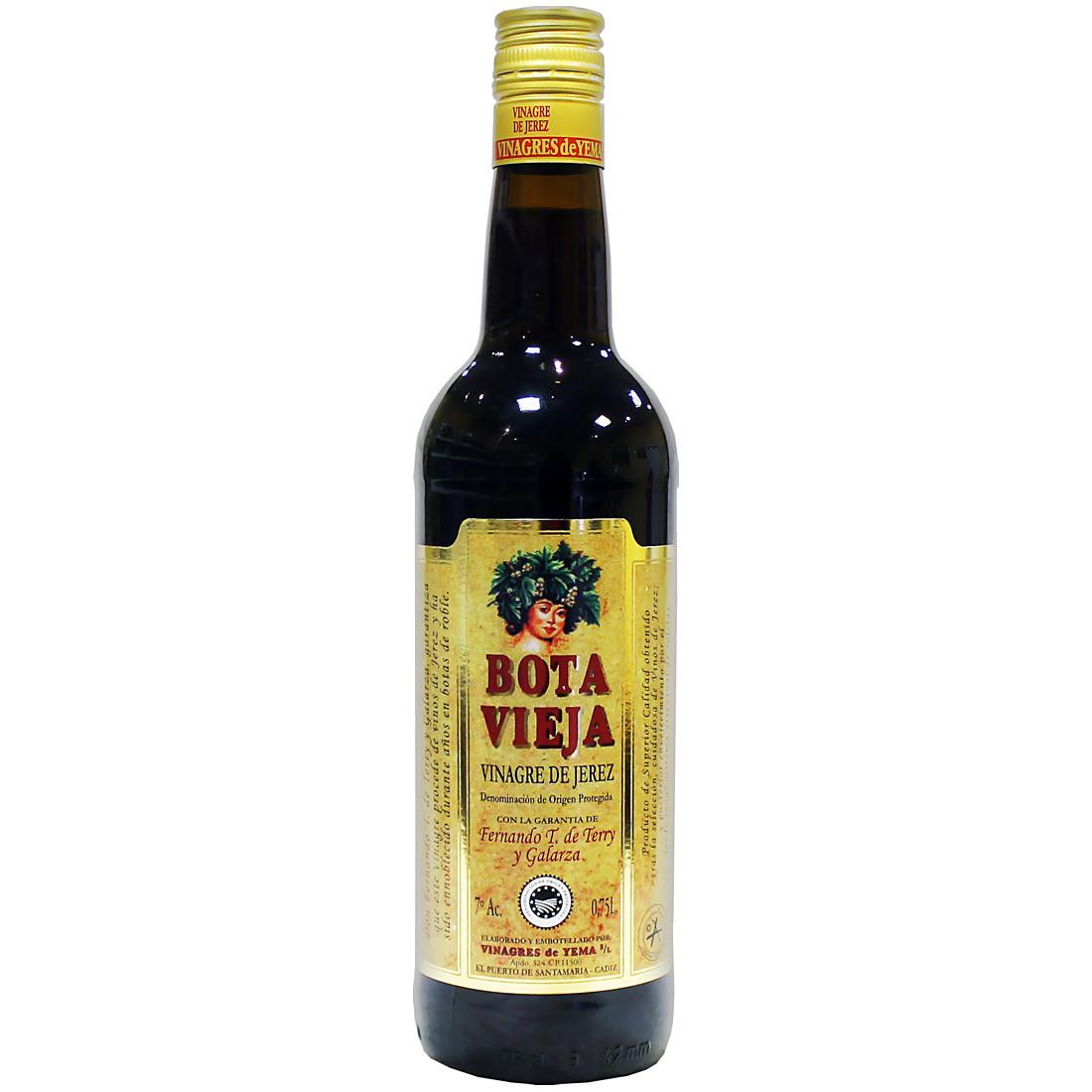Уксус из хереса (DOP Reserva) БОТА ВЬЕХА, хересная бутылка 750мл