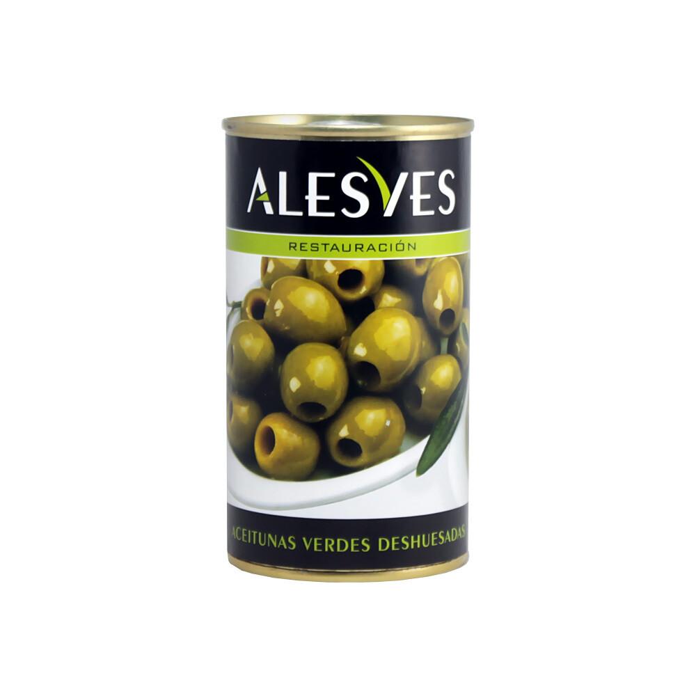 Оливки зеленые б/к, калибр 280-320, АЛЕСВЕС, 350г