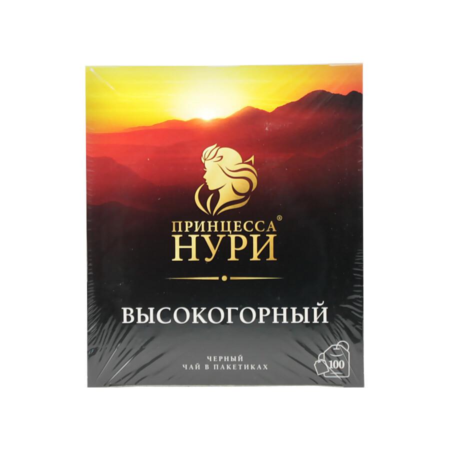 Чай в пакетиках черный высокогорный ПРИНЦЕССА НУРИ, 2г*100