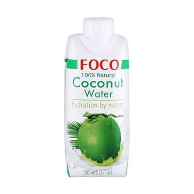 Вода кокосовая (без сахара), ФОКО, тетрапак 330мл