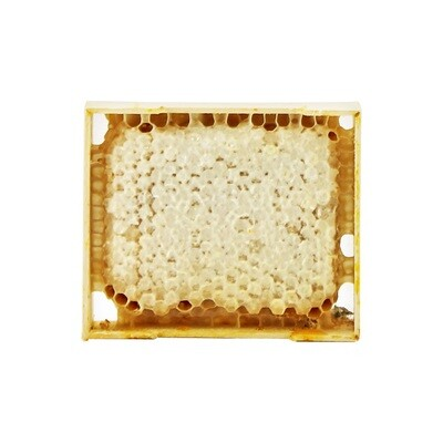 Мед в сотах, маленькая рамка (9*11см), ПЧЕЛКА, ~250г