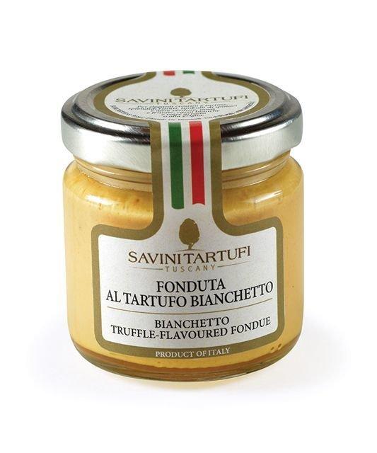 Крем для фондю из сыра Фонтина и трюфеля Бьянчетто, САВИНИ ТАРТУФИ, 90г