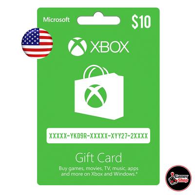 Xbox Live Card (región USA)