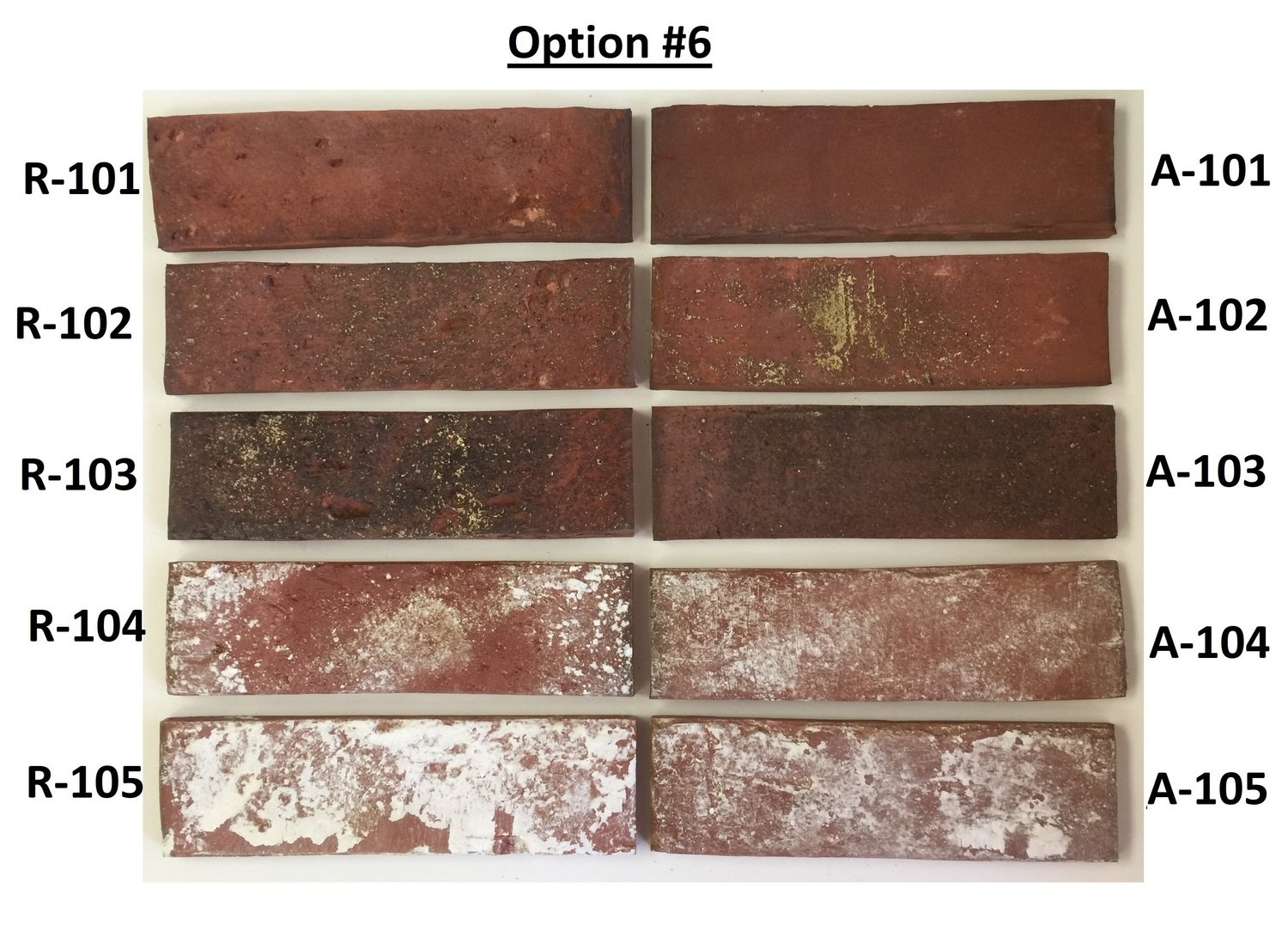 Sample Option #6 - Flooring & Wall sizes - Mix of Antique & Rustic