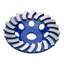 180mm TURBO CUP DISC 10mm MF - BLUE