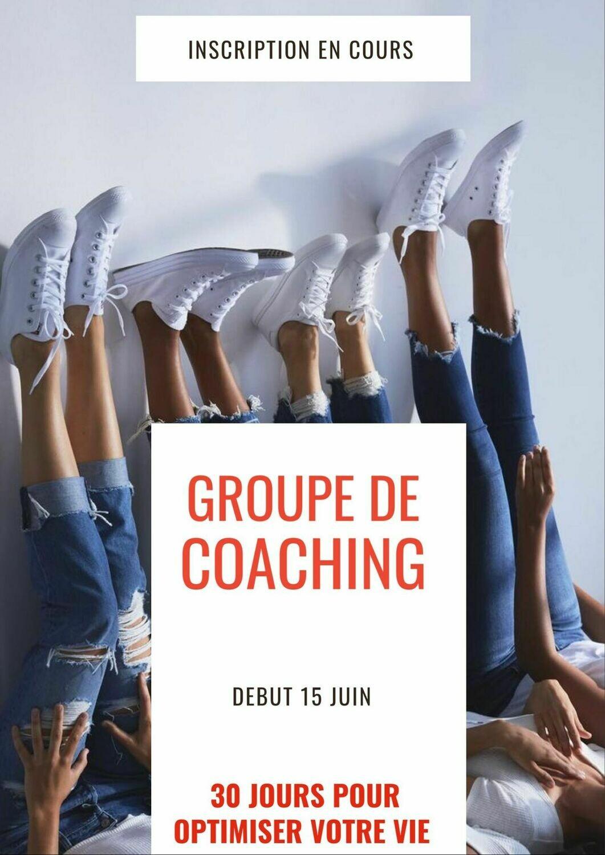 Défi coaching 30 jours - Groupe d'Alexandra Stellini