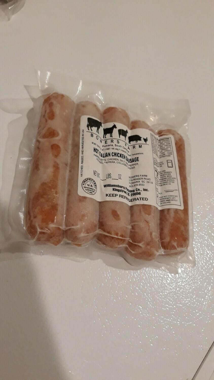 Hot Italian Chicken Sausage