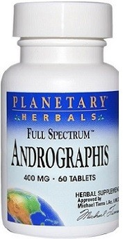 Andrographis 400mg Planetary Herbals