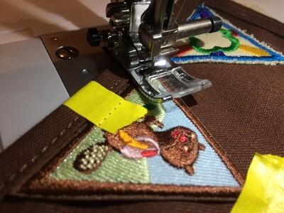 1 Adult Participant, Badge Sew-On Workshop, 6/6/20