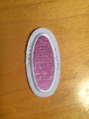 USED petal - dark pink