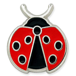 Ladybug Sprouts Pin
