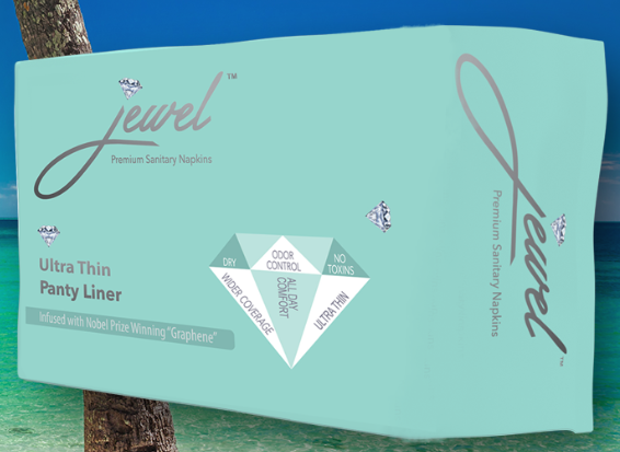 JEWEL PADS: PANTY LINERS FOR LIGHT FLOW