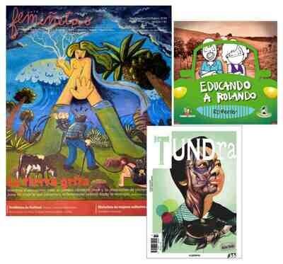 Educando a Rolando + femiñetas Newspaper + La Tundra OFFER