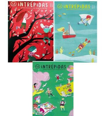 Intrépidas - Offer 3 Issues  /  Magazine for girls in Spanish
