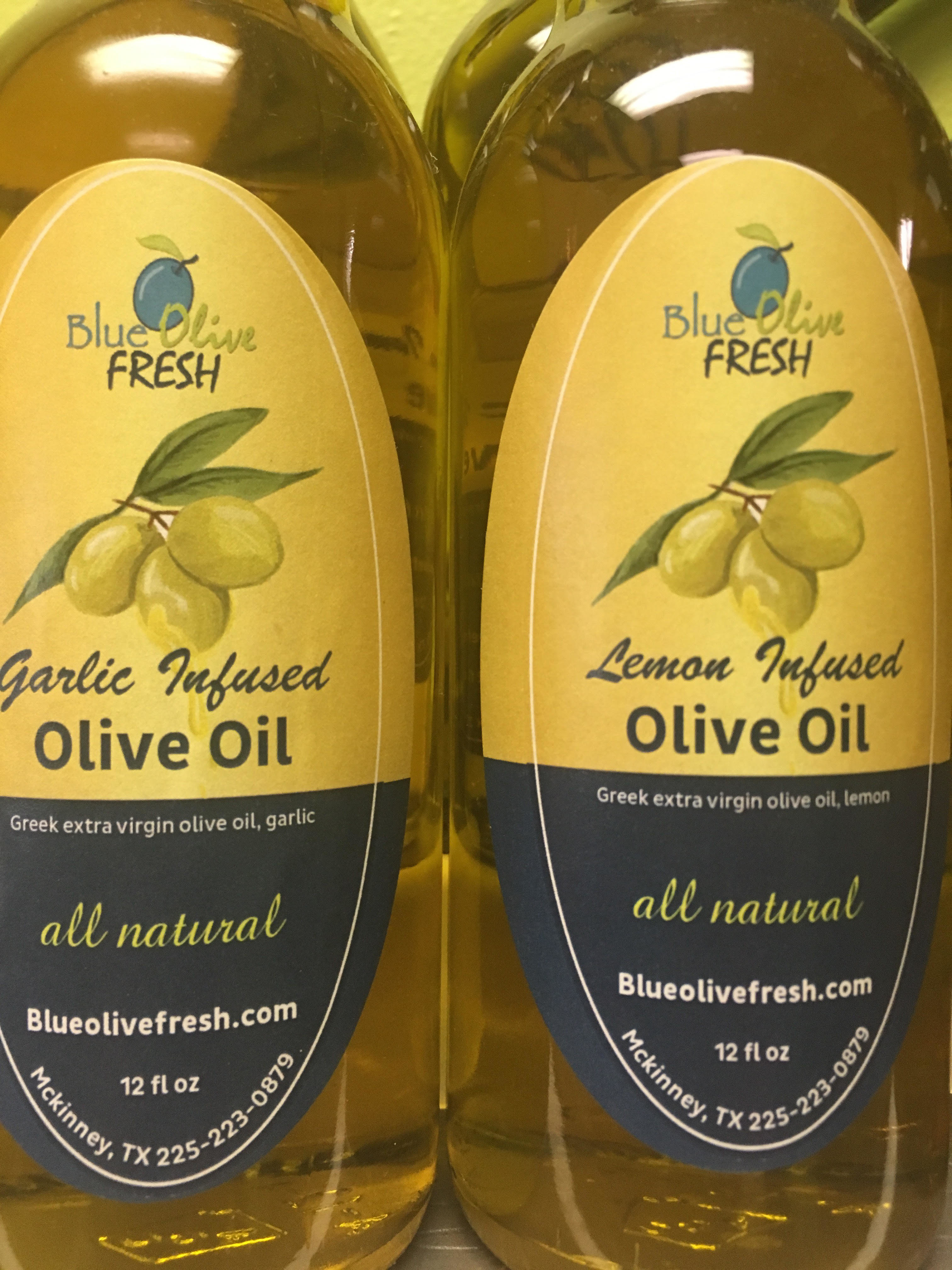 Garlic Infused Olive Oil 00009