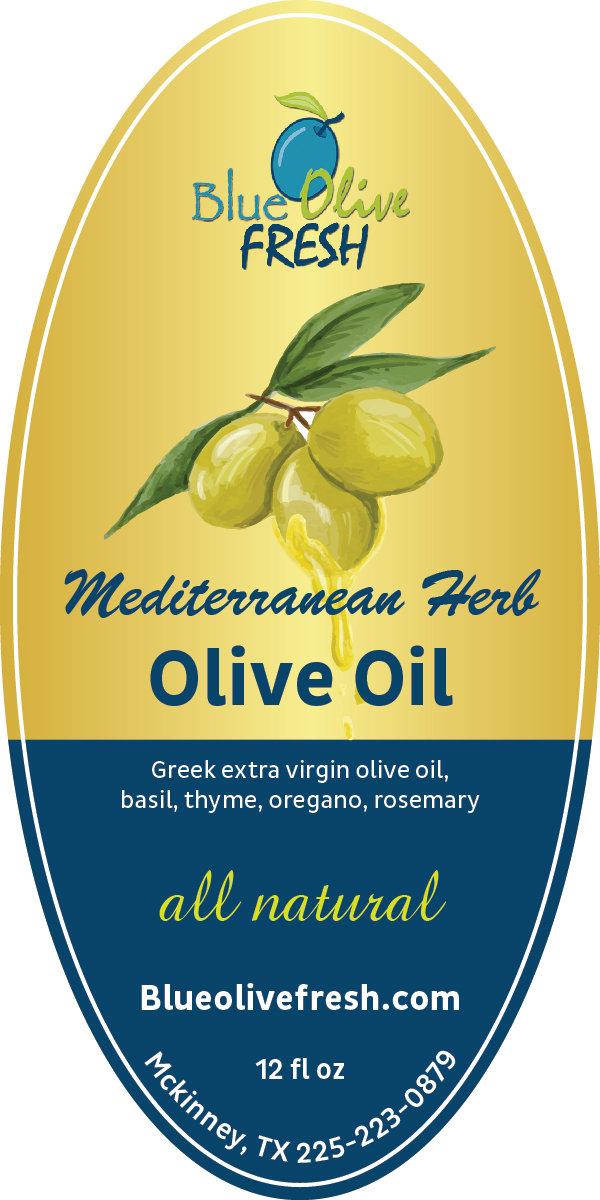Mediterranean Herb Infused Olive Oil 00012