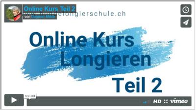 Online Longierkurs Teil 2 Die Sichtzeichen K003